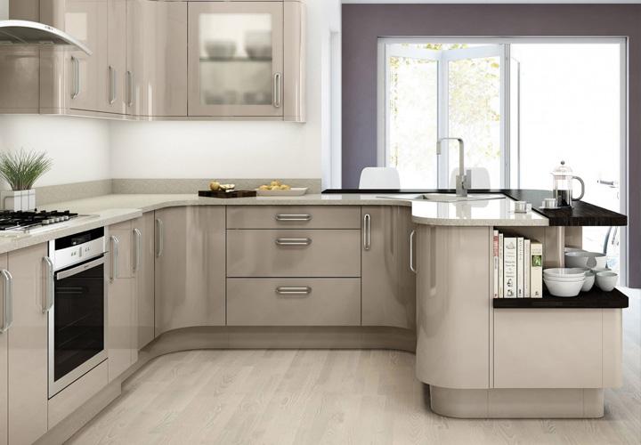 Tủ bếp Acrylic - AC14
