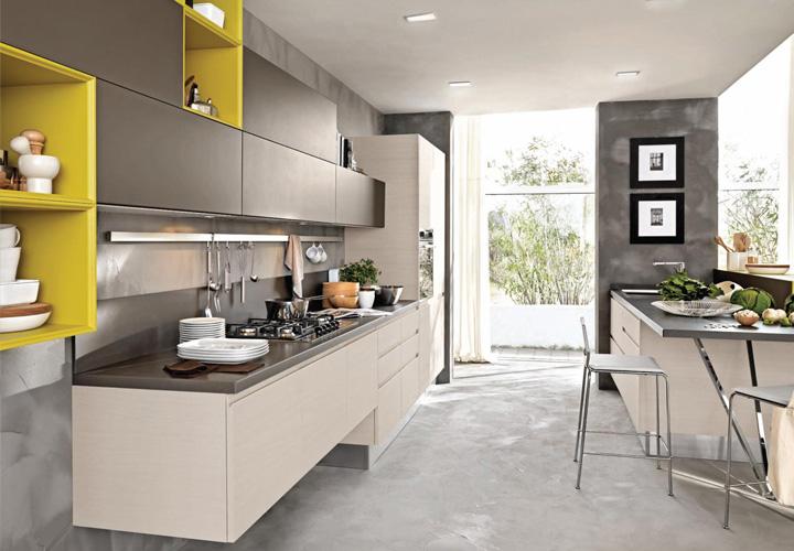 Tủ bếp Acrylic - AC16