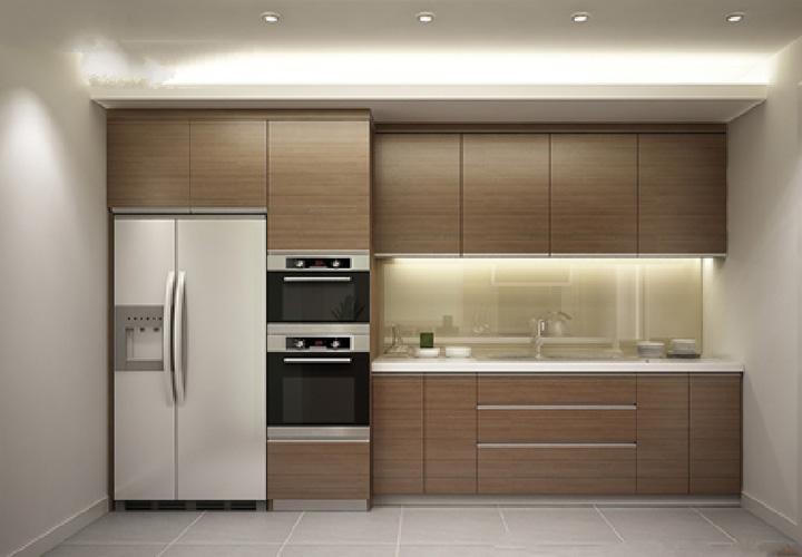 Tủ bếp Acrylic - AC18