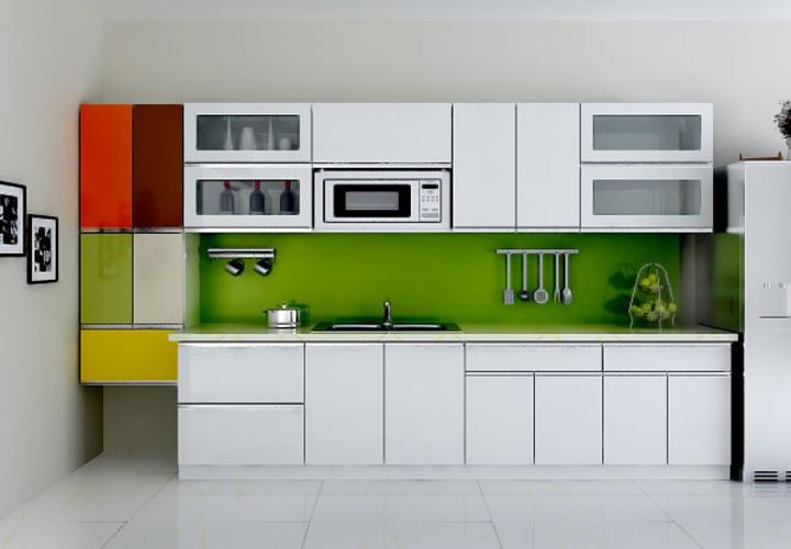 Tủ bếp Acrylic AC22