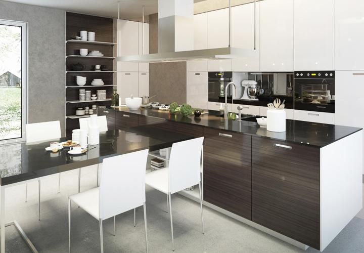 Tủ bếp Acrylic - AC23