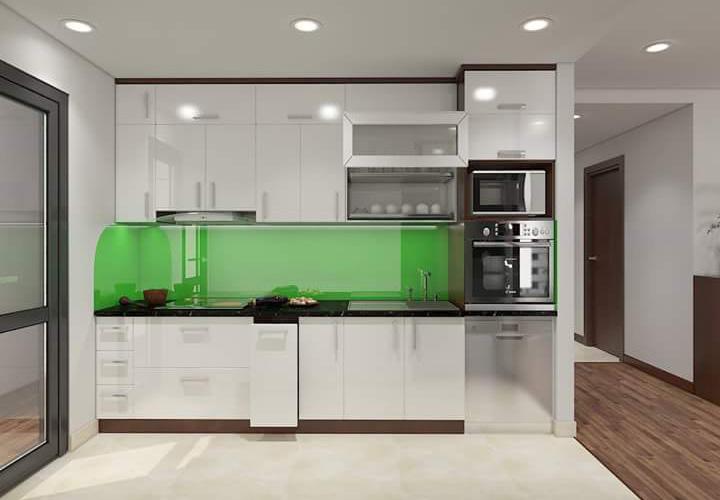 Tủ bếp Acrylic - AC26