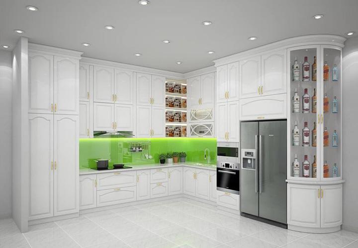 Tủ bếp Acrylic - AC27