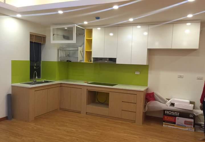 Tủ bếp Acrylic - AC28
