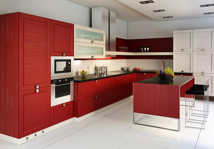 Tủ bếp Acrylic - AC29