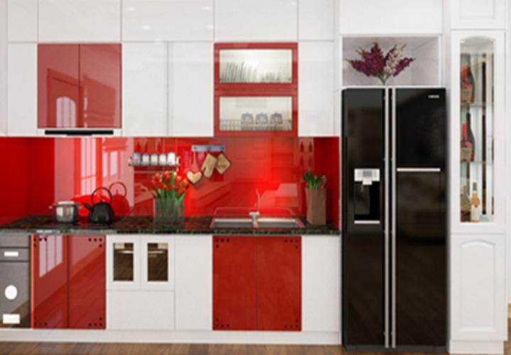 Tủ bếp Acrylic - AC30