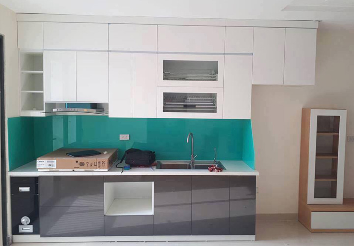 Tủ bếp Acrylic - AC33