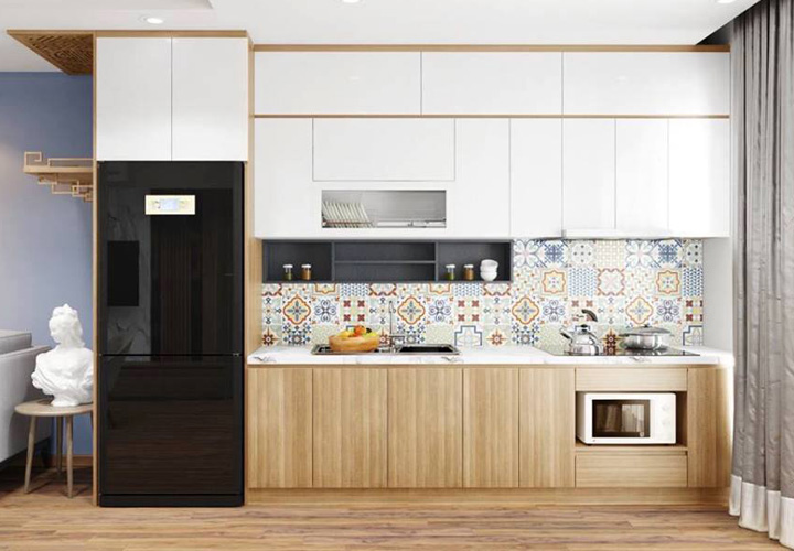 Tủ bếp Acrylic - AC36