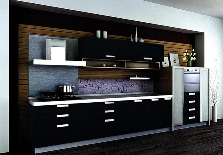 Tủ bếp Acrylic - AC38